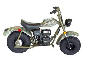 Recalled Baja Motorsports mini bike