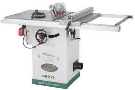 Grizzly Recalls Table Saws Due to Laceration and Impact Hazards