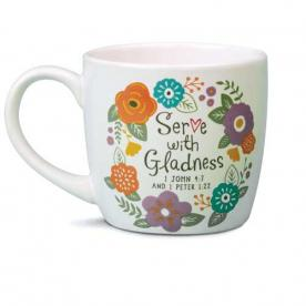 Model #18209 Serve with Gladness Mug