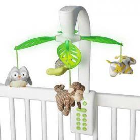 Skip Hop Moonlight & Melodies projection crib mobile