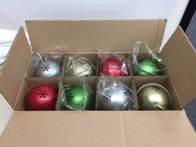 Cheryl & Co. Jingle Bell ornament box set of 8