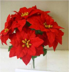 Michaels Recalls Artificial Poinsettias