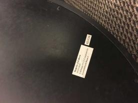 Golda Wall Clock Label
