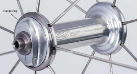 ZIPP 88v6 front hub (Silver)