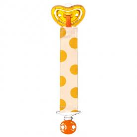 m Designer pacifier and clip