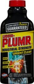 Liquid Plumr Industrial Strength Urgent Clear Clog Remover - UPC Code 44600-31484