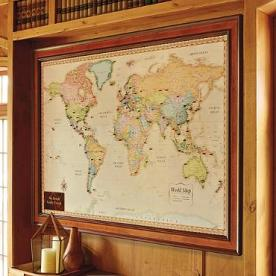 Cinmar Recalls World Magnetic Travel Maps Due To Risk of Magnet Ingestion by Children; Sold Exclusively at Frontgate (Recall Alert)