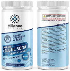 Alliance Chemical Recalls Sodium Hydroxide Products Due to Failure to Meet Child Resistant Packaging Requirement and Violation of FHSA Labeling (Recall Alert)