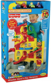 Fisher-Price Recalls Little People Wheelies Stand 'n Play Rampway Due to Choking Hazard