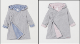 H&M Recalls Children's Bathrobes Due to Violation of Flammability Standard (Recall Alert)