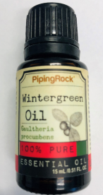 Piping Rock Health Products Recalls Wintergreen Essential Oil Due to Failure to Meet Child Resistant Closure Requirements; Risk of Poisoning (Recall Alert)