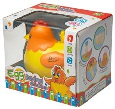 Recalled egg laying chicken toy in box
