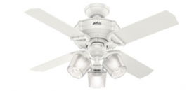 Hunter Fan Recalls Brunswick Three and Four Light Ceiling Fans Due to Shock Hazard