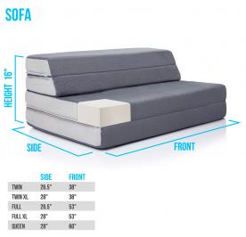 CVB Recalls LUCID Folding Mattress-Sofas Due to Violation of Federal Mattress Flammability Standard