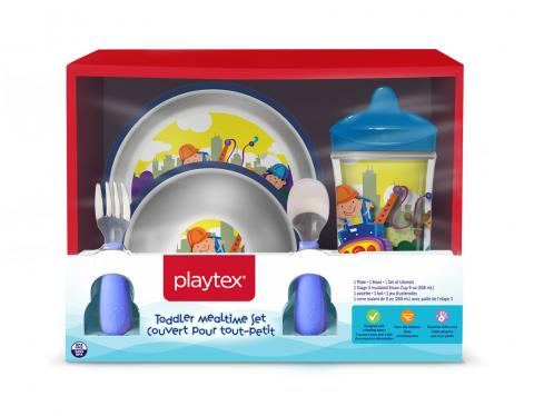 Playtex Mealtime set construction