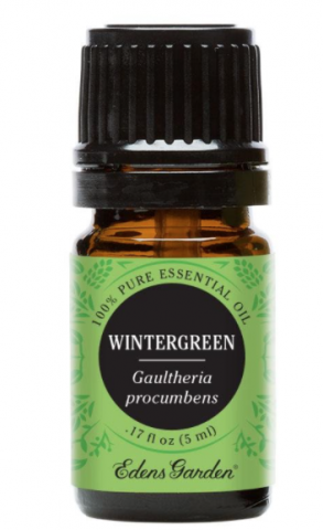 Recalled 100% Pure Essential Oil Wintergreen – 5 mL bottle