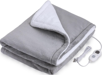 Recalled InvoSpa Electric Throw Heated Blanket