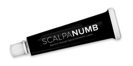 Recalled Scalpa Numb Maximum Strength Topical Anesthestic Cream