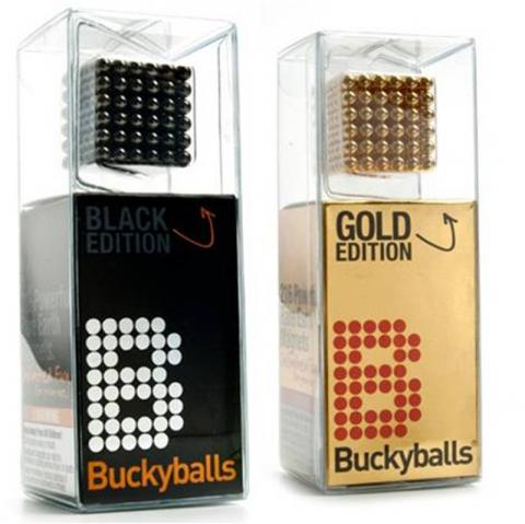 Buckyballs high-powered magnet sets