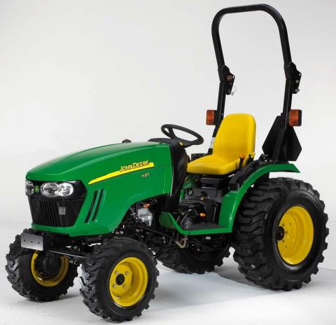 John Deere Recalls Compact Utility Tractors Due To Risk Of Serious
