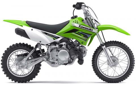 Caption: Kawasaki KLX110