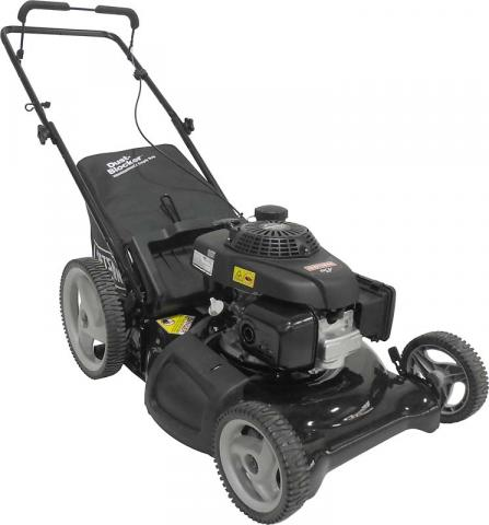 Craftsman 21-inch 3-in-1 high-wheel gas-powered push mower