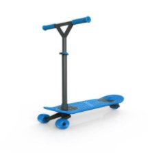 "Recalled MorfBoard Skate & Scoot Combo scooter with ""Y"" handlebar"