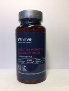 Recalled Vthrive Bioactive Women's One-Daily Multi vitamins