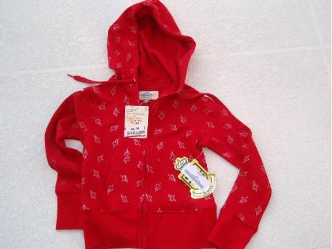 Picture of Recalled Hooded Sweatshirt - Red