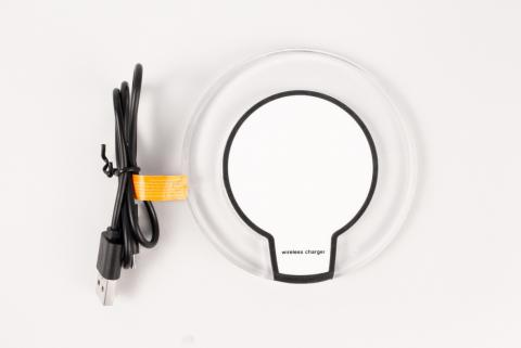 Recalled wireless phone charger with cord