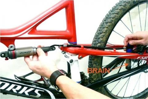 Recalled Alloy Seat Stay