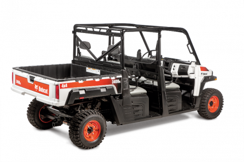 Recalled Bobcat 3400XL utility vehicle