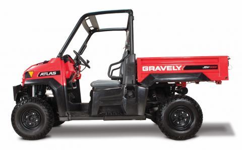 Recalled Gravely JSV 3000 utility vehicle