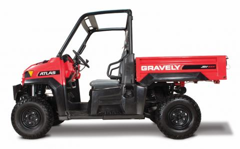 Recalled Gravely JSV 3000 utility vehicle