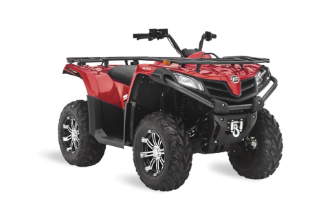 Recalled CFORCE 500 S ATV
