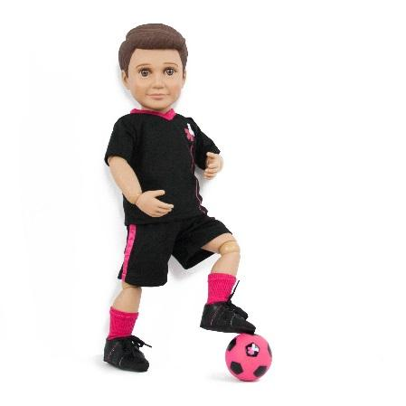 Recalled Mason HeForShe Special Edition Action Doll