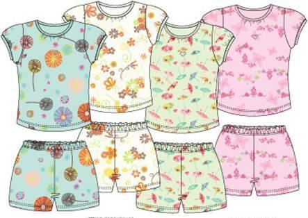 Petit Lem Children's Pajamas