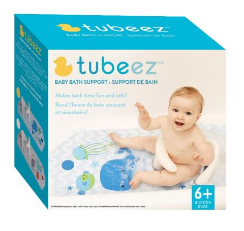 Tubeez Baby Bath Support Seat product packaging
