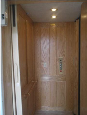 Recalled Waupaca residential elevator, Custom Lift