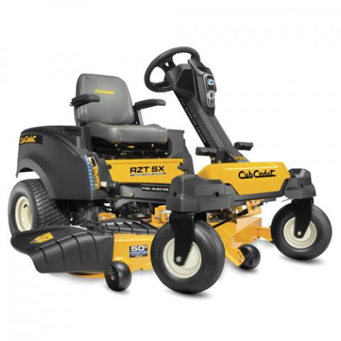 Recalled Cub Cadet 2018 RZT SX EFI zero-turn riding mower.