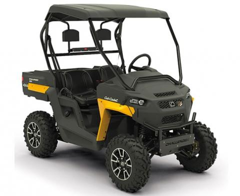 Recalled Cub Cadet 2018 Challenger utility vehicle