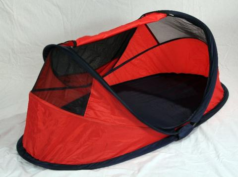 Peapod Travel Bed (red)