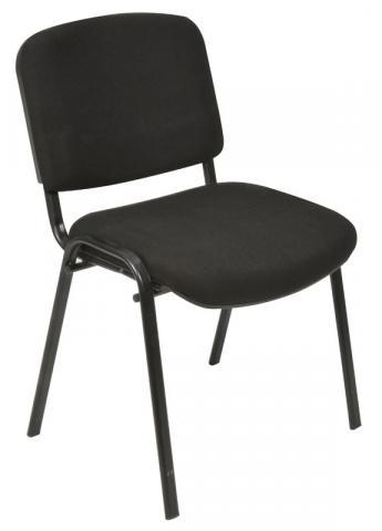 Oakmont black stackable chair