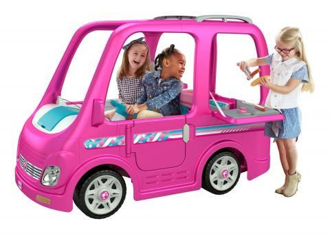 Fisher-Price Recalls Children's Power Wheels Barbie Campers Due to Injury Hazard