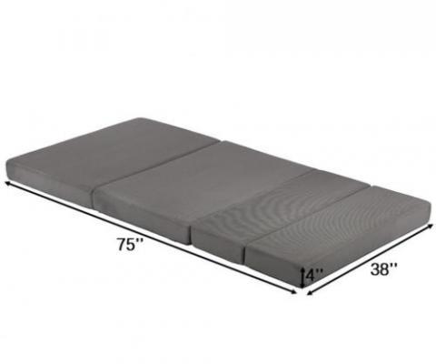 Factory Direct Wholesale folding mattress – model FDW-RJ-38T (twin)