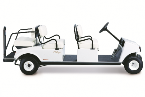 Recalled Club Car Gas Villager