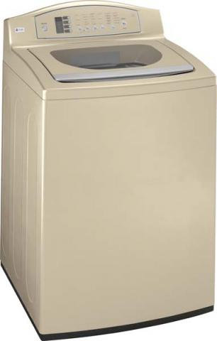 GE Profile™ top-loading clothes washer (gold)