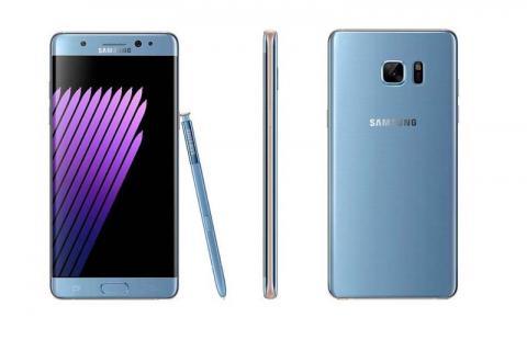Recalled Samsung Galaxy Note7 phone
