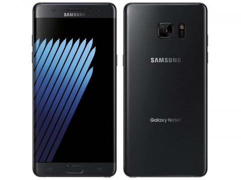 Recalled Samsung Galaxy Note7 phone