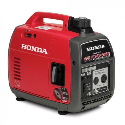 Recalled EU2200i Companion portable generator